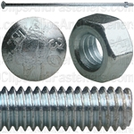 5/16-18 X 12 Battery Hold Down Bolt - Zinc