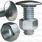Bumper Bolt 3/8-16 X 1 Stainless Pan Hd W/Hex Nut