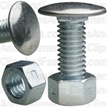 Bumper Bolt 3/8-16 X 1 Stainless Pan Head With Lock Nuts