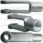 Adjustable Yoke Ends 7/16-20 Tap 2-7/8 Long 1 Wide