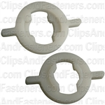Front Door Glass Nylon Bushing - Chrysler