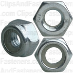 6mm-1.0 Metric Nylon Insert Lock Nuts DIN 985