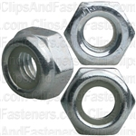 8mm-1.25 Metric Nylon Insert Lock Nuts DIN 985
