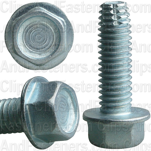 Small Parts 08041SWG 1//4 Length #8-32 Thread Size Pack of 100 1//4 Length Slotted Drive Pack of 100 Green Zinc Plated Steel Thread Cutting Screw Hex Washer Head Type 1