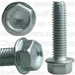 3/8-16 X 1-1/2 Hex Washer Head Thread Cutting Screws Zinc