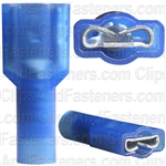 16-14 Ga Fully Insulated Nylon Female Quick-Connect Terminals