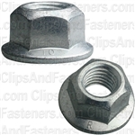 M10-1.5 Hex Flange Locknut 21mm Flange