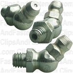 Grease Fitting6mm-1.0 45Deg Din 71412 (7045)