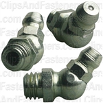 Grease Fitting 8mm-1.25 45Deg Din 71412 (7545)