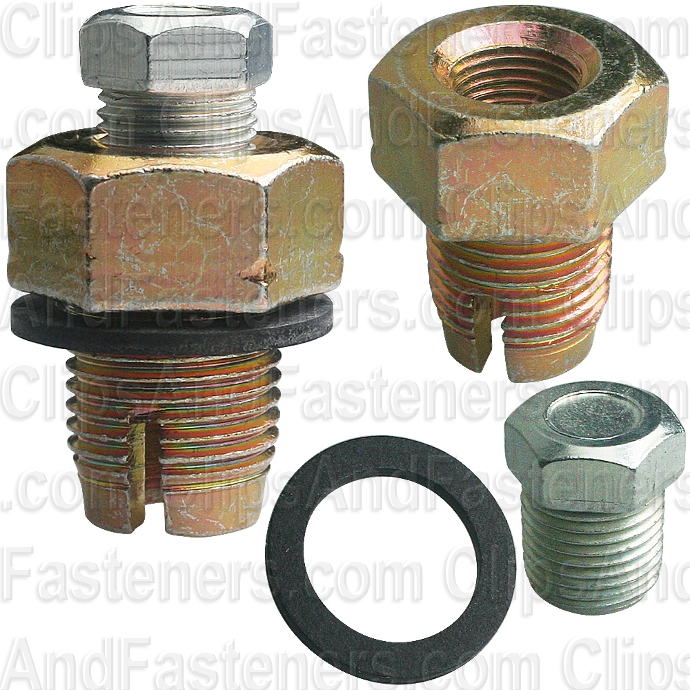 OIL PAN DRAIN PLUG 14mm x 1.5 SINGLE OVERSIZE