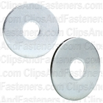 3/16 X 3/4 Od Fender Washer - Zinc