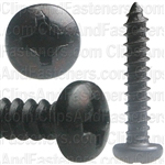 #6 X 3/4 Phil Pan Hd T.S. - Black Oxide