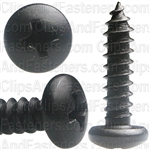 #10 X 3/4 Phil Pan Hd T.S. - Black Oxide