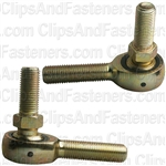 Male Rod End W/Stud Ball Joint 3/8-24 Right