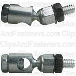 Damper Control Swivel W/Nut & Lock Wash 1/4-20