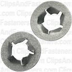 M6-1.0 Pushnut Bolt Retainer 12.7mm O.D. Zinc