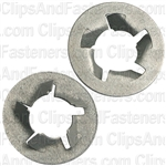 M6.3-1.0 Pushnut Bolt Retainer 12.7mm O.D. Zinc