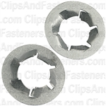 M12-1.75 Pushnut Bolt Retainer 21.4mm O.D. Zinc