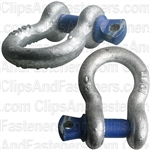 "Screw Pin Anchor Shackle 5/16"" - Galvanized"
