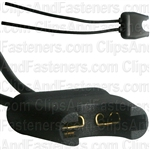 Auto Fuse Holder 16 Gauge Wire Leads