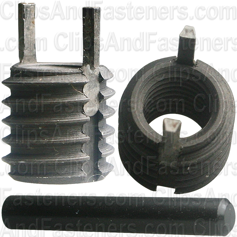 Clipsandfasteners Inc 1//4-20 Thinwall Thread Repair Inserts