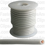 Plastic Primary Wire White 25' 14 Gauge