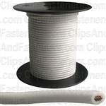 Plastic Primary Wire White 100' 18 Gauge