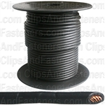 Plastic Primary Wire Black 100' 16 Gauge