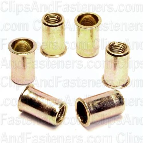 50 3//8-16 Reversible Lock Nuts Zinc Clipsandfasteners Inc