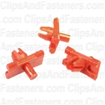Volkswagen Moulding Clip Red Nylon