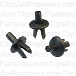 Push-Type Retainer 7mm Length 10mm Head Dia.