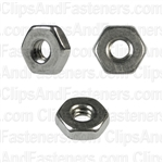 6-32 Hex Machine Screw Nut 18-8 Stainless