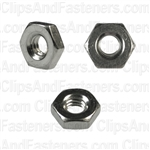 8-32 Hex Machine Screw Nuts 18-8 Stainless