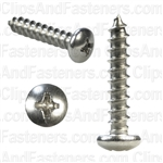 10 X 1 Phillips Pan Head Tap Screw 18-8