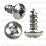 12 X 1/2 Phillips Pan Head Tap Screw 18-8
