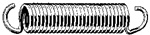 Extension Spring 2.656 Length .080 Wire Size