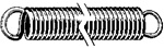 Extension Spring 1.438 Length .048 Wire Size