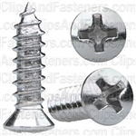 Phillips Oval Head Tap Screw 8 X 5/8 6 Head