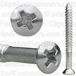 Phillips Oval Tap Screw 8 X 1-1/2 6 Head