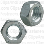6mm-1.0 Din 934 Hex Nut - Zinc