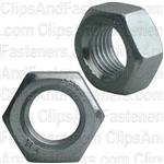 12mm-1.25 Din 934 Hex Nut - Zinc
