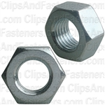 12mm-1.5 Din 934 Hex Nut - Zinc