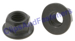 Hex Flange Locknut M10-1.5 21mm Flange