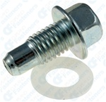 M12-1.75 Oil Drain Plug With Gasket
