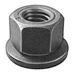 M6-1.0 Free Spinning Washer Nut 16mm Od