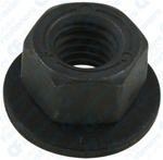 M8-1.25 Free Spinning Washer Nut 19mm O.D.