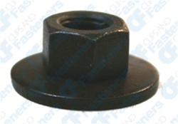 M8-1.25 Free Spinning Washer Nut24mm Od