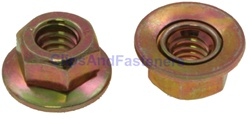 1/4-20 Free Spinning Washer Nut 5/8 O.D. Ford: 3866846, 385400