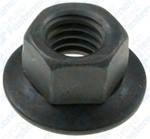 3/8-16 Free Spinning Washer Nut 7/8Od