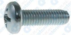 25 4mm X 15mm Slotted Flat Head Metric Machine Screws Din 963